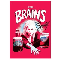 iZombie Brains and Beauty MightyPrint Wall Art Print