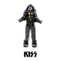 KISS FiGPiN Enamel Pins - The Demon (Love Gun)