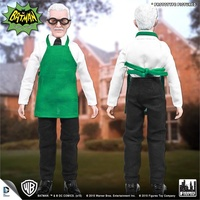 Batman Classic TV Series 8 Inch Action Figure: Alfred Pennyworth Green Apron Variant