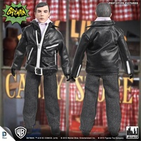 Batman Classic TV Series 8 Inch Action Figure: Dick Grayson Undercover Agent Variant