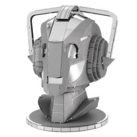 Doctor Who Cyberman Head Metal Earth Model Kit