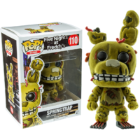 Five Nights at Freddy's - Springtrap Flocked US Exclusive Pop! Vinyl