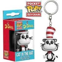 Dr Seuss - Cat in the Hat Pocket Pop! Keychain