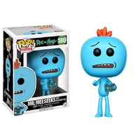 Rick & Morty - Mr. Meeseeks with Meeseeks Box US Exclusive Pop! Vinyl [RS]