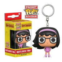 Bob's Burgers - Buttloose Tina US Exclusive Pocket Pop! Keychain [RS]