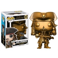 Pirates of the Caribbean 5 - Jack Sparrow Gold US Exclusive Pop!