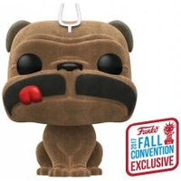 Inhumans - Lockjaw Flocked NYCC 2017 US Exclusive Pop! Vinyl [RS]