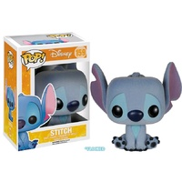 Lilo & Stitch - Stitch Seated Flocked US Exclusive Pop! [RS]