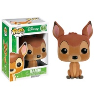 Bambi - Bambi Flocked US Exclusive Pop! Vinytl Figure [RS]
