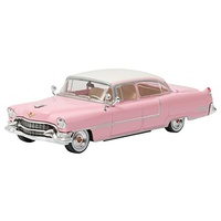 Elvis Presley 1955 ''Pink Cadillac'' Fleetwood Series 60 1:43 Scale Die-Cast Metal Vehicle