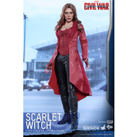 Captain America Scarlet Witch Action Figure