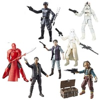 Star Wars The Black Series 6-Inch Action Figure Wave 13 - Set of 7