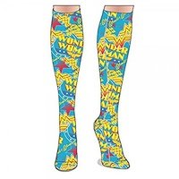 Knee High Sock DC Comics Wonder Woman Sublimated