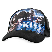 KISS LOUD AND PROUD CAP - BLACK