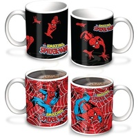 Spiderman Coffee Mug Heat Change