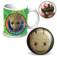 GROOT MUG & STRESS RELIEVER