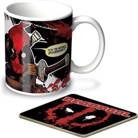 Deadpool Coffee Mug and Coaster Set