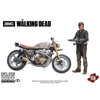 The Walking Dead - Daryl Dixon with New Bike Action Figure Box Set