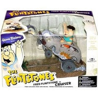 The Flintstones - Fred Flintstone Cruiser Diorama Boxset