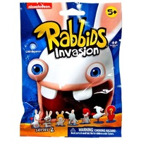 Raving Rabbids Rabbids Invasion Series 2 Mini Figure 2-Inch Mystery Pack