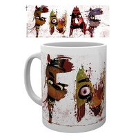 Five Nights at Freddy's Letters Mug