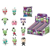 Invader Zim Series 1 3-D Figural Key Chain Display Case