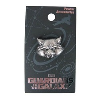Guardians of the Galaxy Rocket Raccoon Pewter Pin
