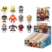 Marvel 3-D Figural Key Chain Series 3