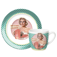 MARILYN MONROE CUP & SAUCER