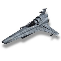 Battlestar Galactica Viper MK VII Prefinished Model Kit