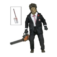 "Texas Chainsaw Leatherface 30th Anniversary 8"" Clothed Action Figure"