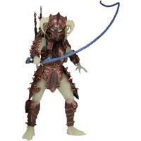 "Predator - Glow in the Dark Stalker Predator 7"" Action Figure (Series 16)"