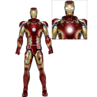 Iron Man Mark 43 1:4 Scale Action Figure
