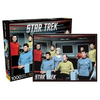 Star Trek Cast 1,000 Piece Puzzle