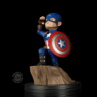 Captain America Civil War Q-Fig Diarama