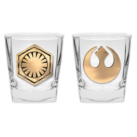Star Wars Spirit Glasses With Badge