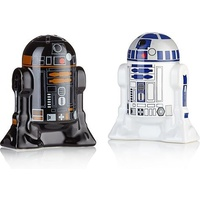 Star Wars Salt and Pepper Shakers R2D2 and R2Q5