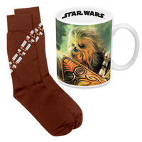 STAR WARS CHEWBACCA MUG & SOCK GIFT PACK