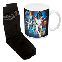 STAR WARS MUG & SOCK GIFT PACK