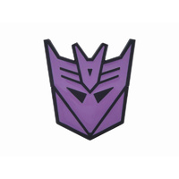 Transformers Decepticon Purple Metal Belt Buckle