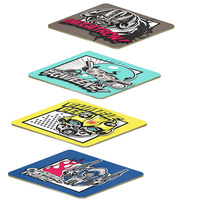 TRANSFORMERS 5 SET OF 4 CORK-BACKED COASTERS