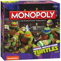Teenage Mutant Ninja Turtles Nickelodeon Monopoly
