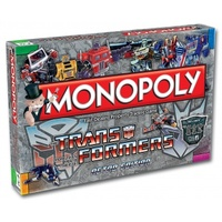 Transformers Retro Edition Monopoly