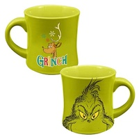 Dr. Seuss How the Grinch Stole Christmas Grinch Holiday 12 oz. Ceramic Mug