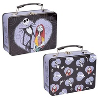 The Nightmare Before Christmas Jack and Sally Large Tin Tote