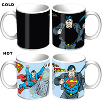 Superman Heat Changing Coffee Mug