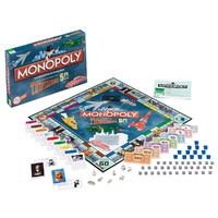 Thunderbirds Retro Monopoly Game