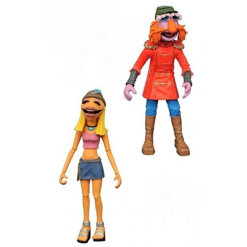 The Muppets Select Action Figures - Floyd Pepper with Janice