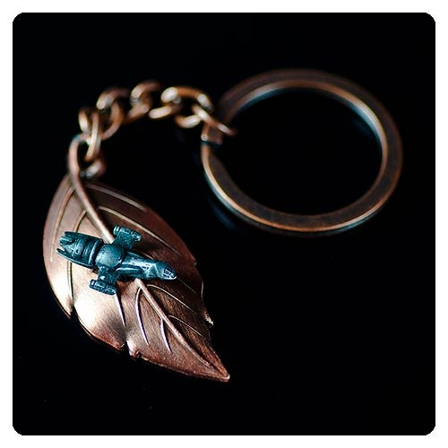 Firefly Serenity Leaf on the Wind Key Chain Pendant