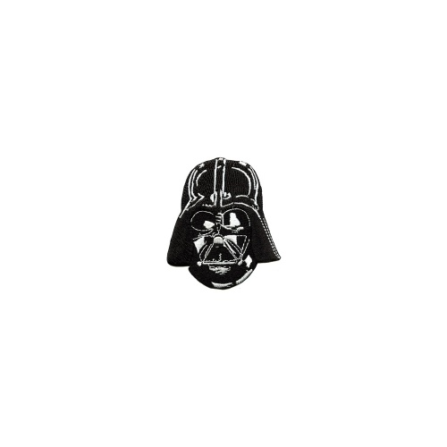 Star Wars Darth Vader Head and Mask Embroidered Patch